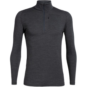 Icebreaker Spring Ridge LS Half-Zip Top Men, jet heather